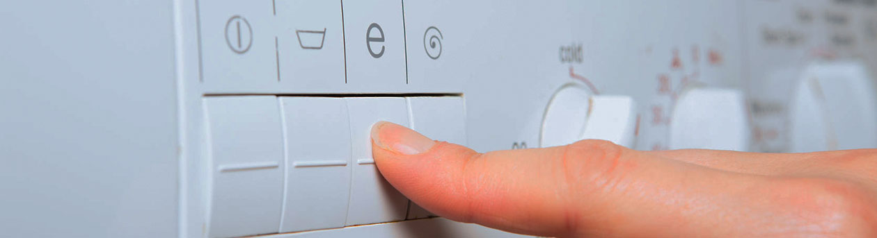ladies finger pressing button