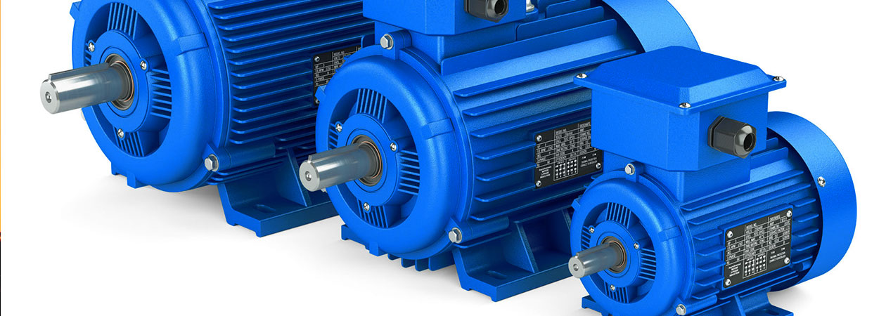 three electric motors
