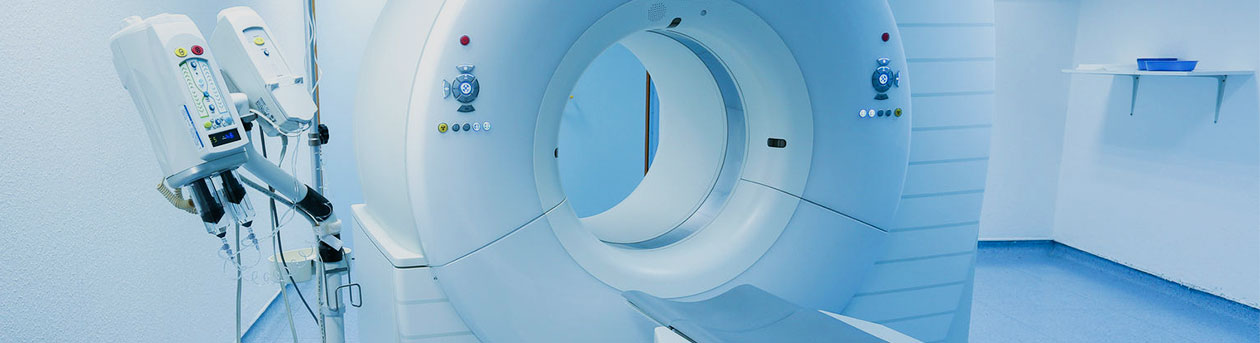 Computed tomography scanner in hospital