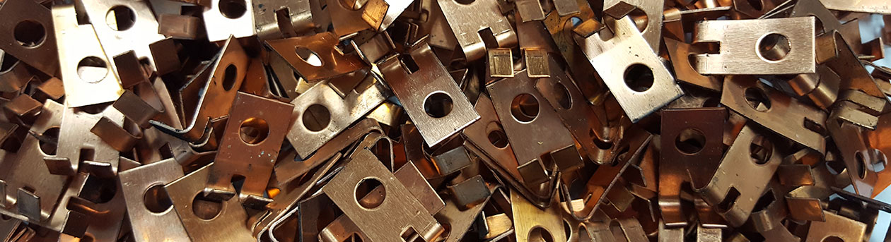 pressed metal parts by Anglo Carbon
