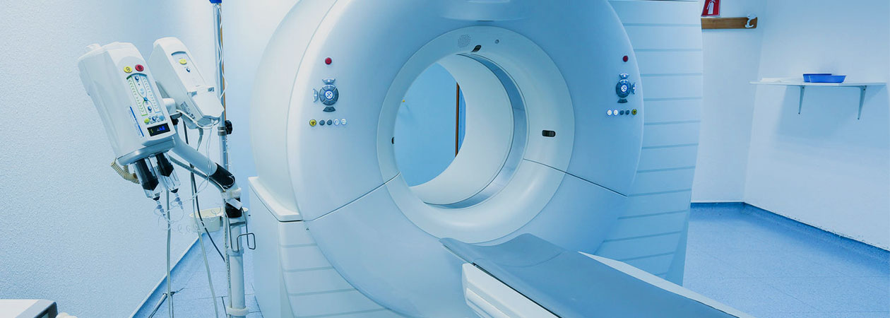 Computed-tomography scanner in hospital